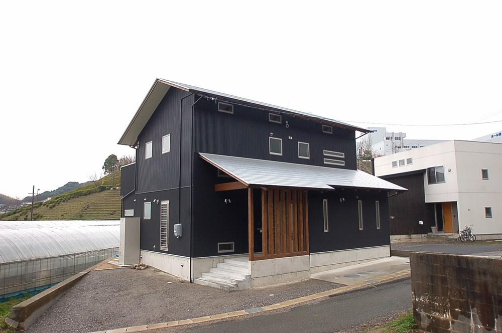 桧の大黒柱を味わう家