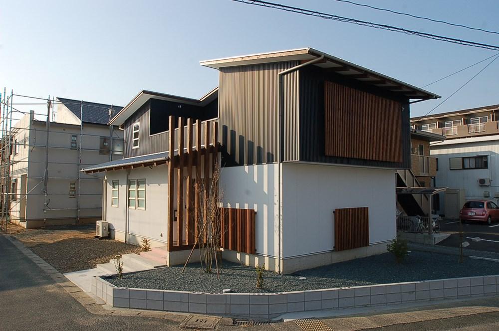 街角をデザインする家
