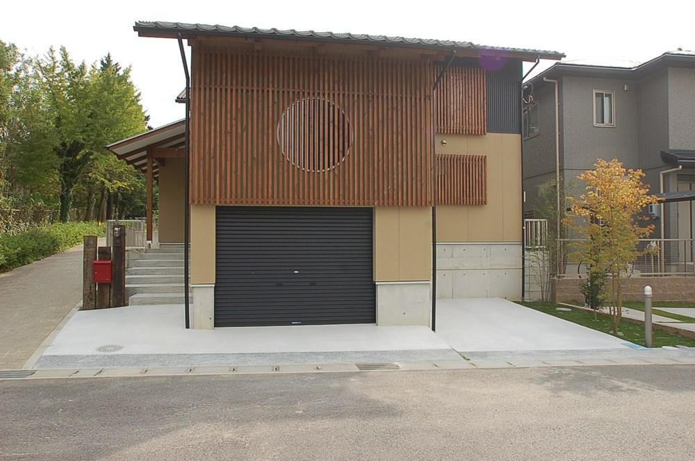 京の町家をデザインした家