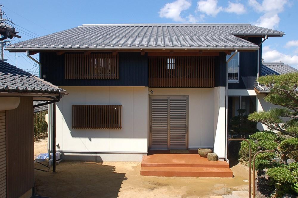 日本茶の味と香りが似合う家