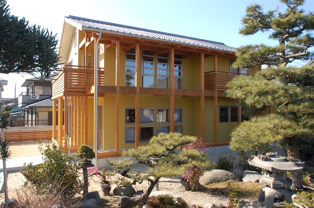 日本の伝統文化が薫る家