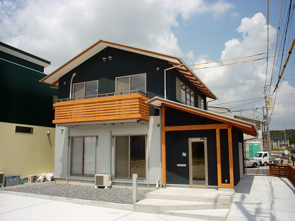 木造力を活かす、軸組・真壁の家